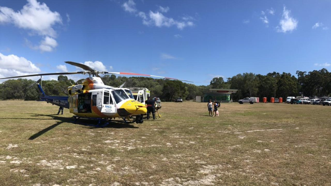 RACQ CAPRICORN Rescue was tasked yesterday morning to a near drowning in 1770.