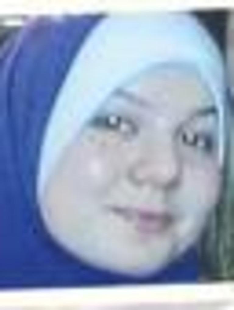 Jailed terror bride Zehra Duman.
