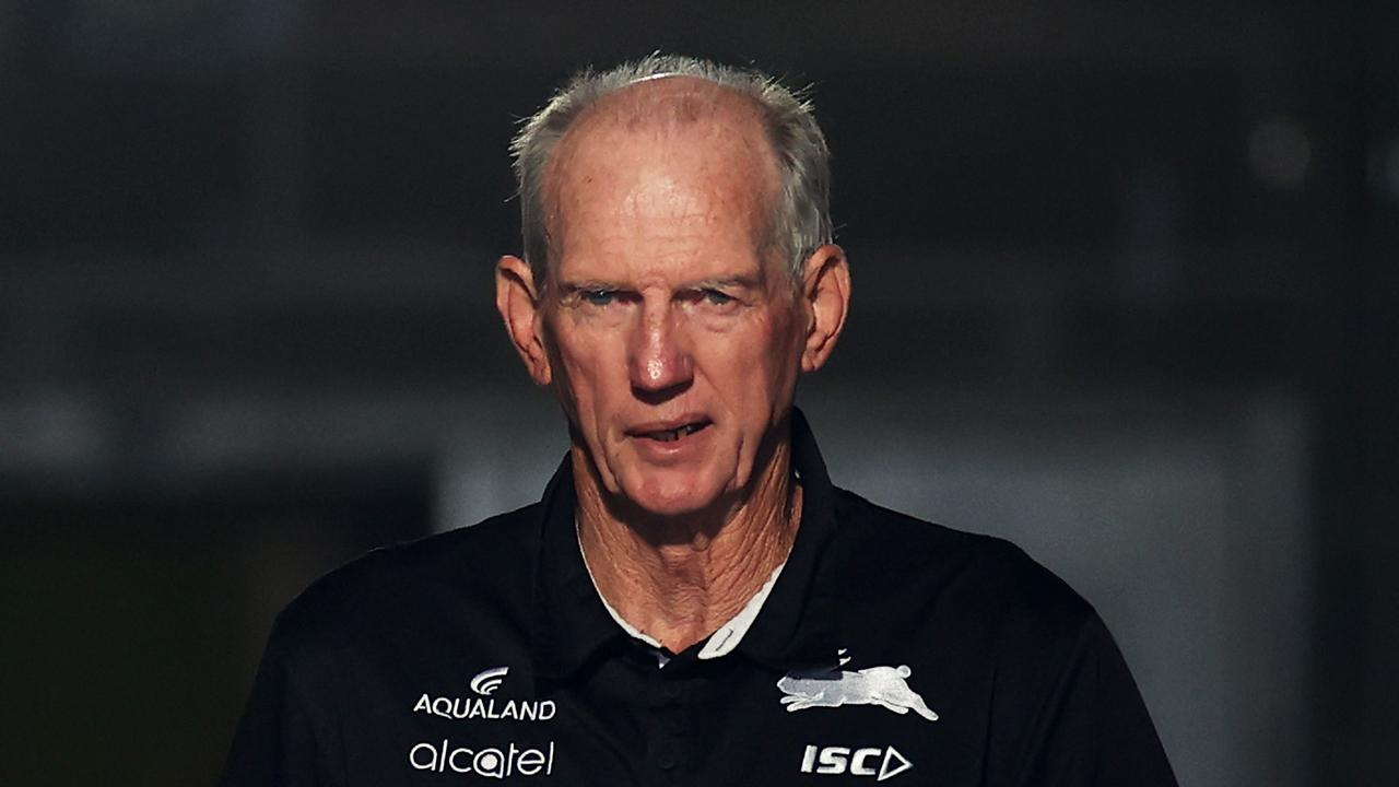 New Queensland coach Wayne Bennett has been forced to delay squad naming. Picture: Cameron Spencer/Getty