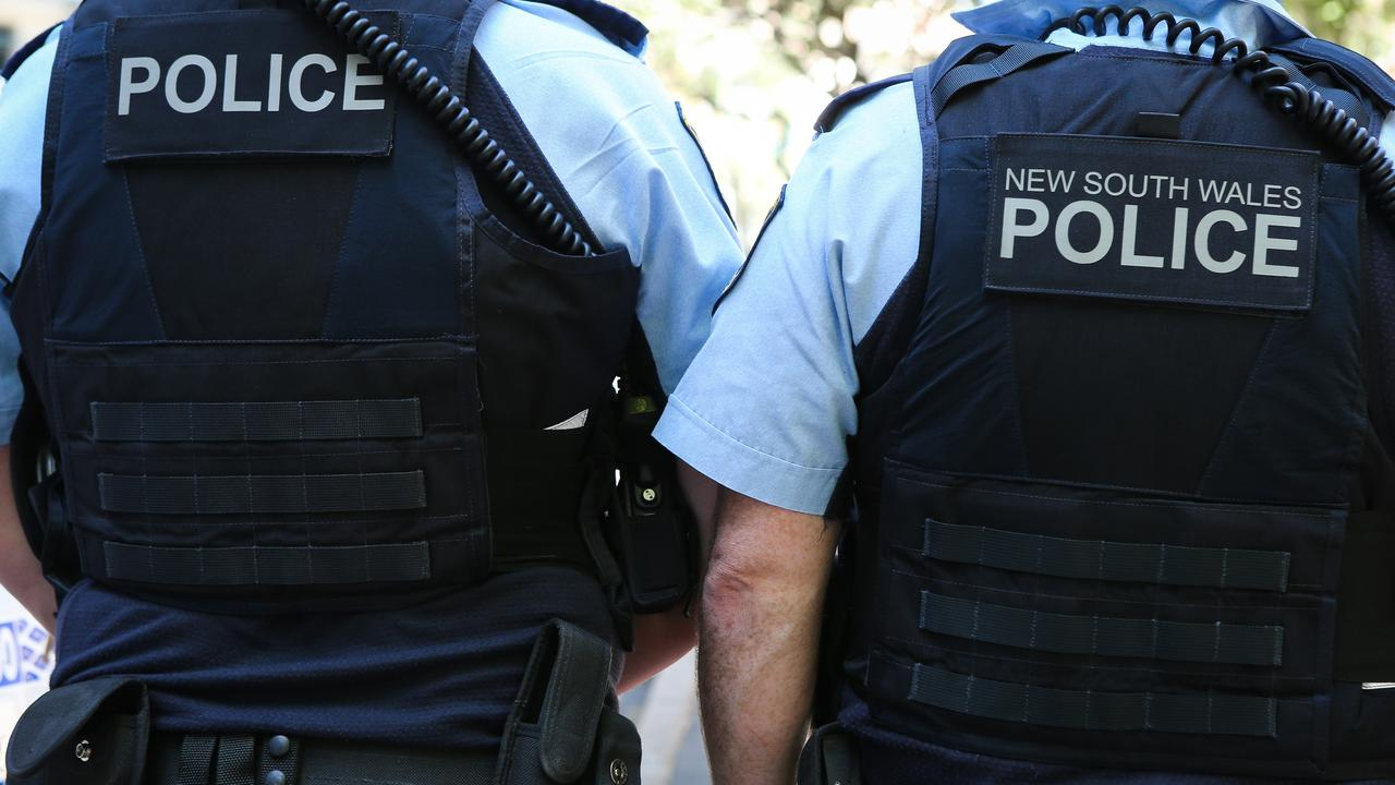 Police continue to hand out COVID-related fines. Picture: NCA NewsWire / Gaye Gerard