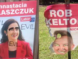 Labor targeted as race for Nicklin turns ugly