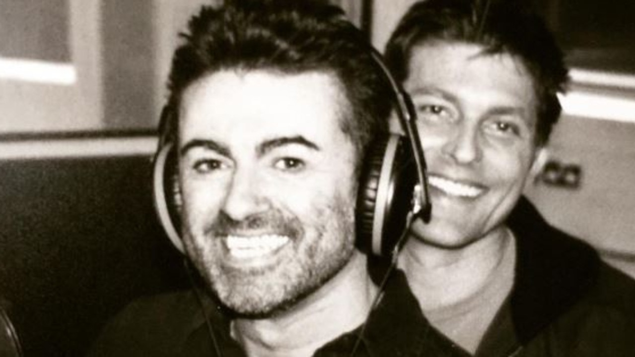 Kenny Goss and George Michael.