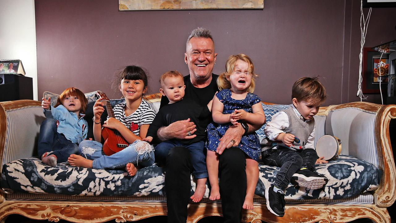 The Barnes family have a Megabed for their grandchildren in their home. Picture: Sam Ruttyn.