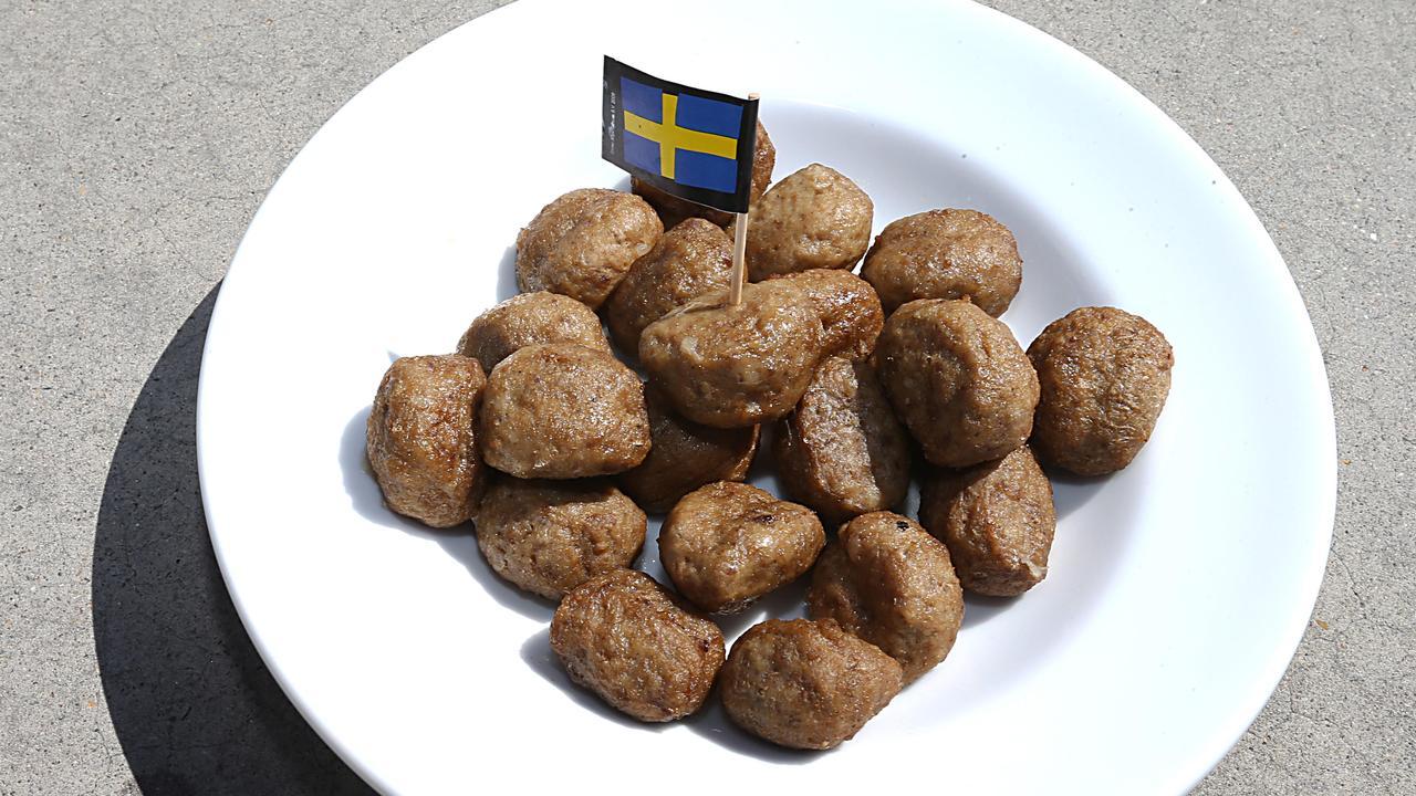 Ikea sells a billion meatballs a year. Picture: Annette Dew