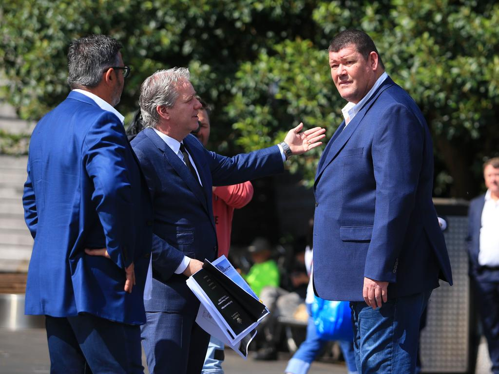 Crown resorts owner James Packer in Melbourne. Aaron Francis/The Australian