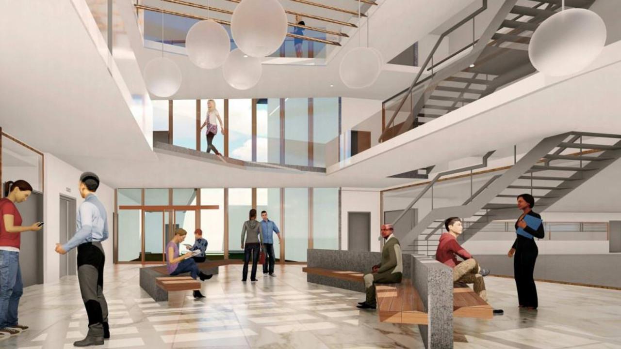 Approved designs of Noosa Health Precinct on Hofmann Dr, Noosaville.