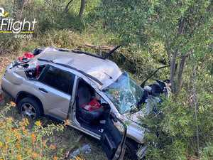 Couple suffer 'multiple' injuries after vehicle rollover