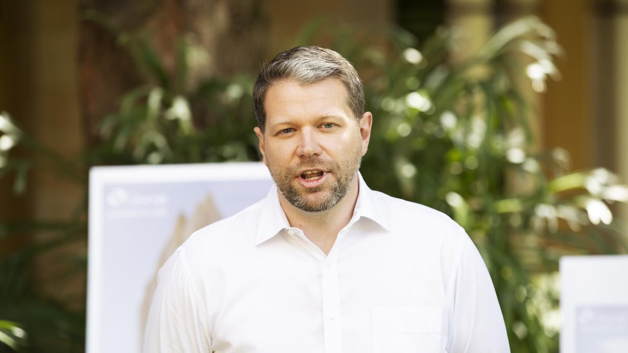 Chris Mountford, Queensland executive director of Property Council of Australia. (News Corp/Attila Csaszar)