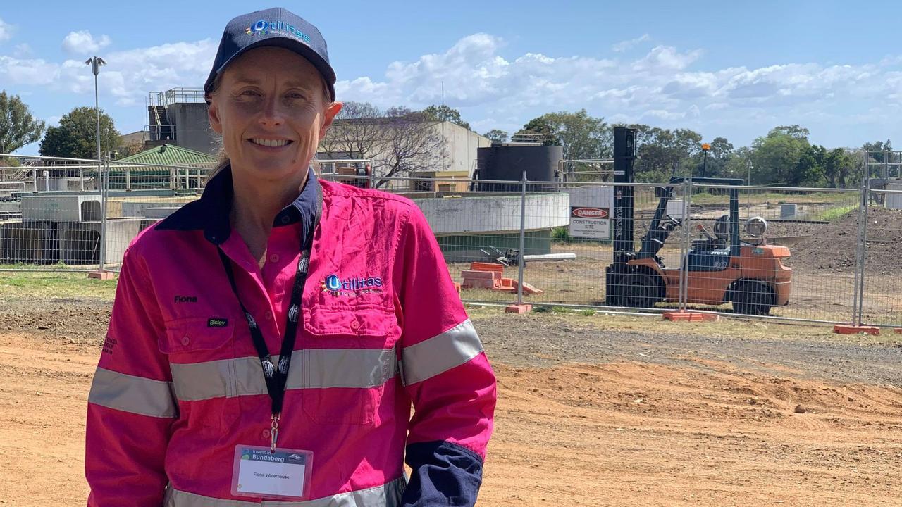 TIME OF CHANGE: Utilitas CEO Fiona Waterhouse at the Bundaberg bioHub site.