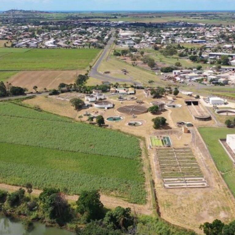 GREEN OUTLOOK: Drone photo of Bundaberg bioHub site (mowed area) June 2020.