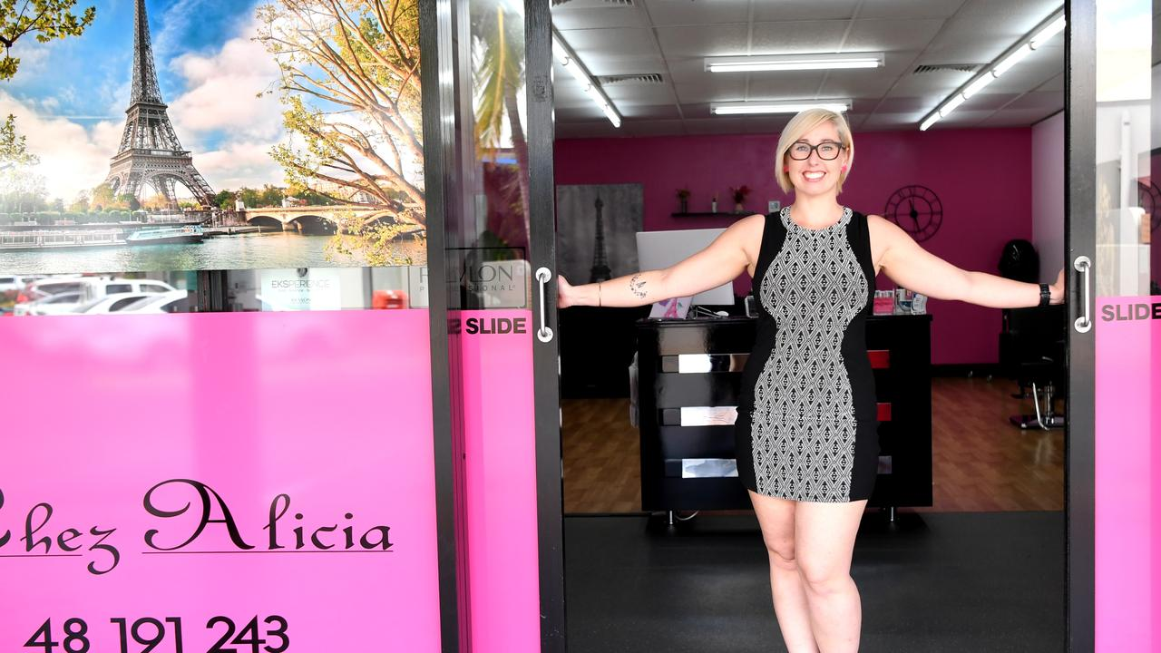 Alicia Biot celebrates her first year in her Glenmore salon