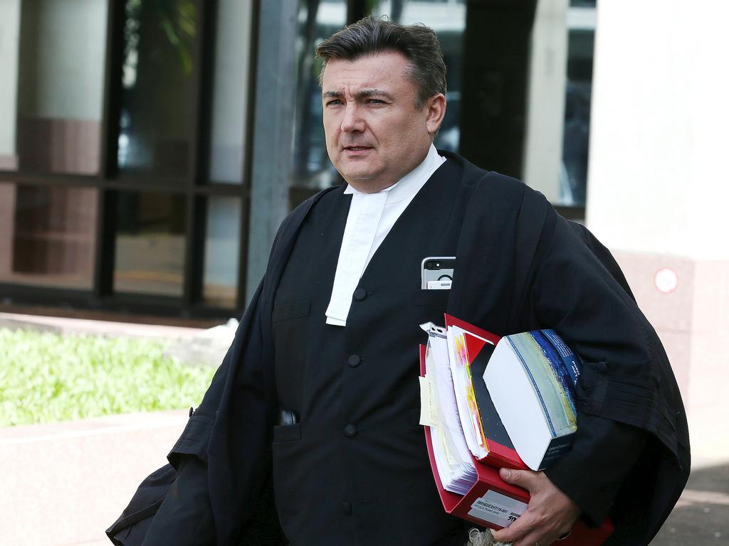 Crown Prosecutor Nigel Rees. PICTURE: JUSTIN BRIERTY