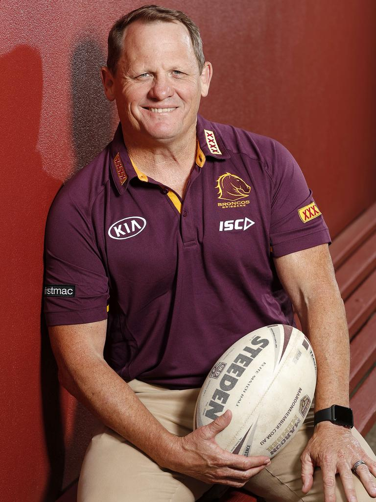 Kevin Walters is eager to get on with helping rebuild the Broncos. Picture: Josh Woning