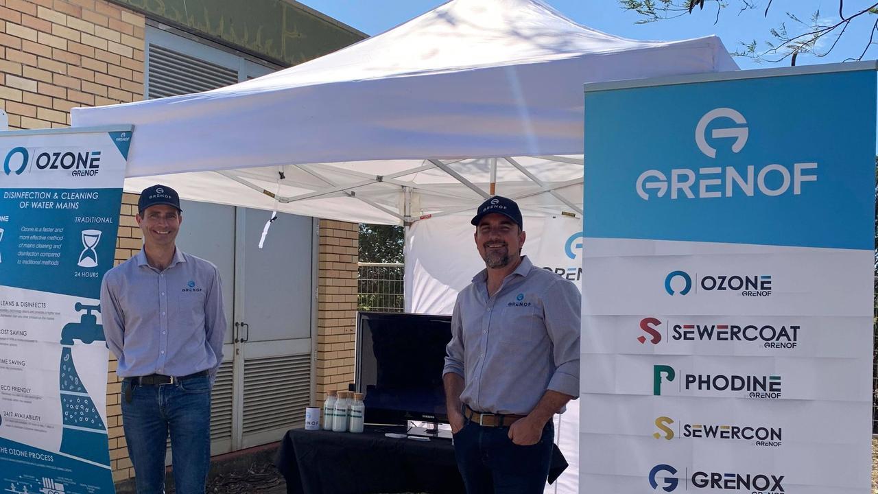 TIME OF CHANGE: Grenof managing director Scott Barnes at the Bundaberg bioHub industrial park opening.