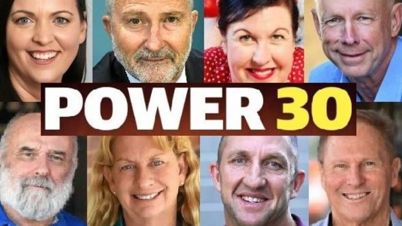 Some of the faces from the 30 Most Powerful and Influential of the Gympie Region in years gone by. Who will make this year's expanded list? Who will miss out? There are some intriguing new faces in this year's list, which will start rolling out next Saturday.
