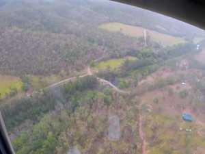 RACQ CQ helicopter attends dirt bike crash in Yalbaroo