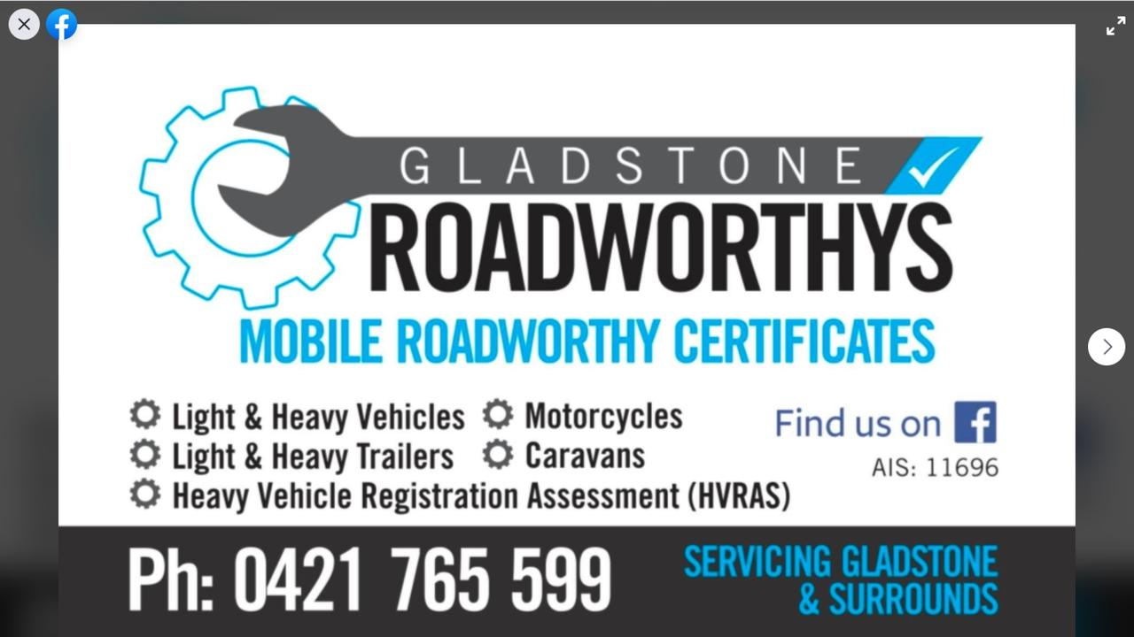 Gladstone Roadworthys proprietor Chris Van Der Schoot takes the hassle out of registering your vehicle or trailer by coming to your home or business to ensure it is safe and compliant.