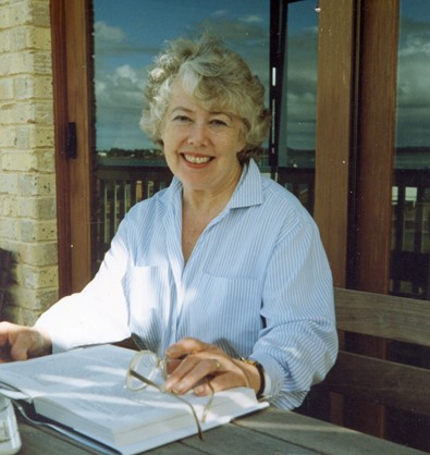 Barbara at Pt O'Halloran 1990s.