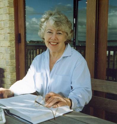 Barbara at Pt O'Halloran 1990s.