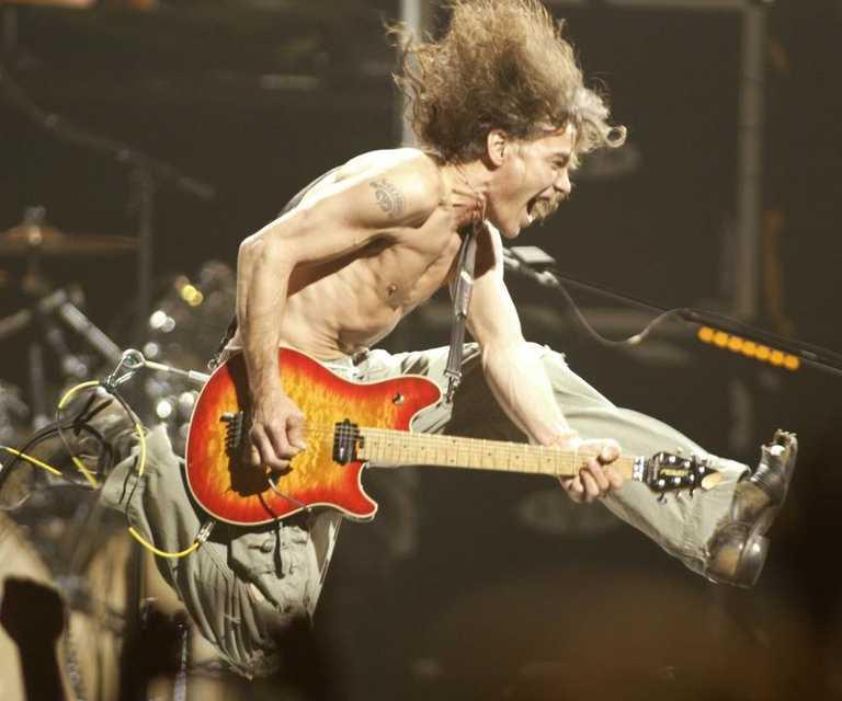One of the best: Eddie Van Halen dies