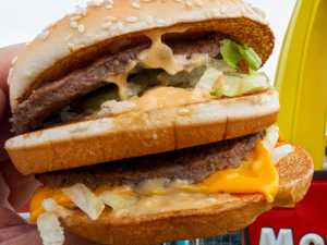 Most expensive Macca's burger in world