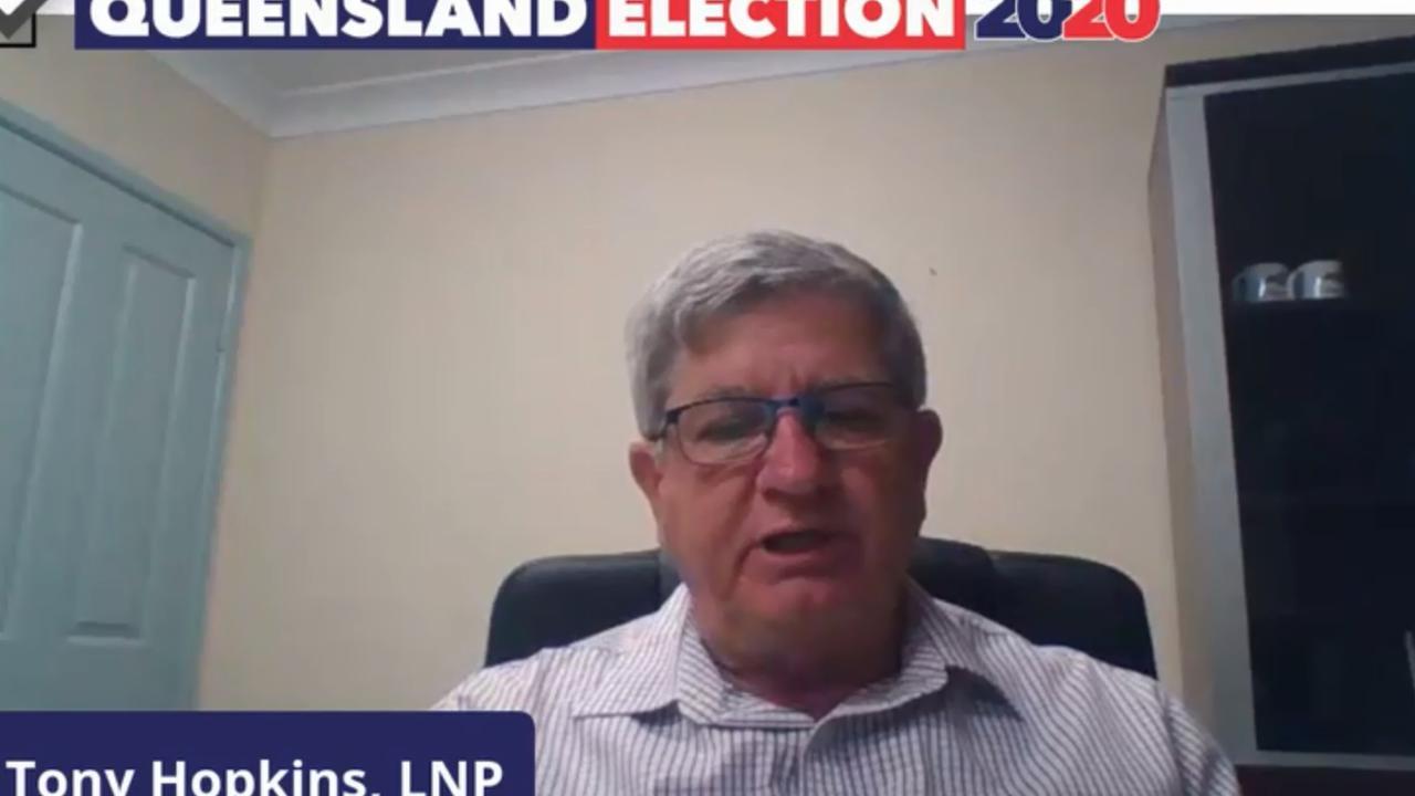 LNP's candidate for Rockhampton Tony Hopkins.
