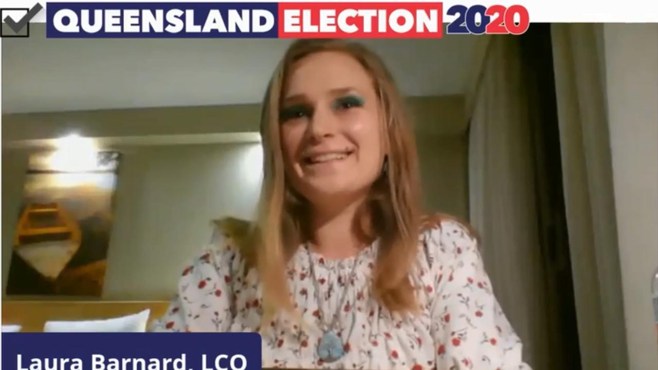 Legalise Cannabis Queensland's candidate for Rockhampton Laura Barnard.