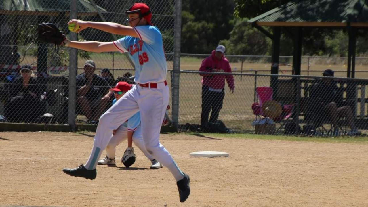 Mackay's Jaxon Maluga, 12, has been named in the U14 Queensland softball team after impressing at the State Championships at Carina last month.
