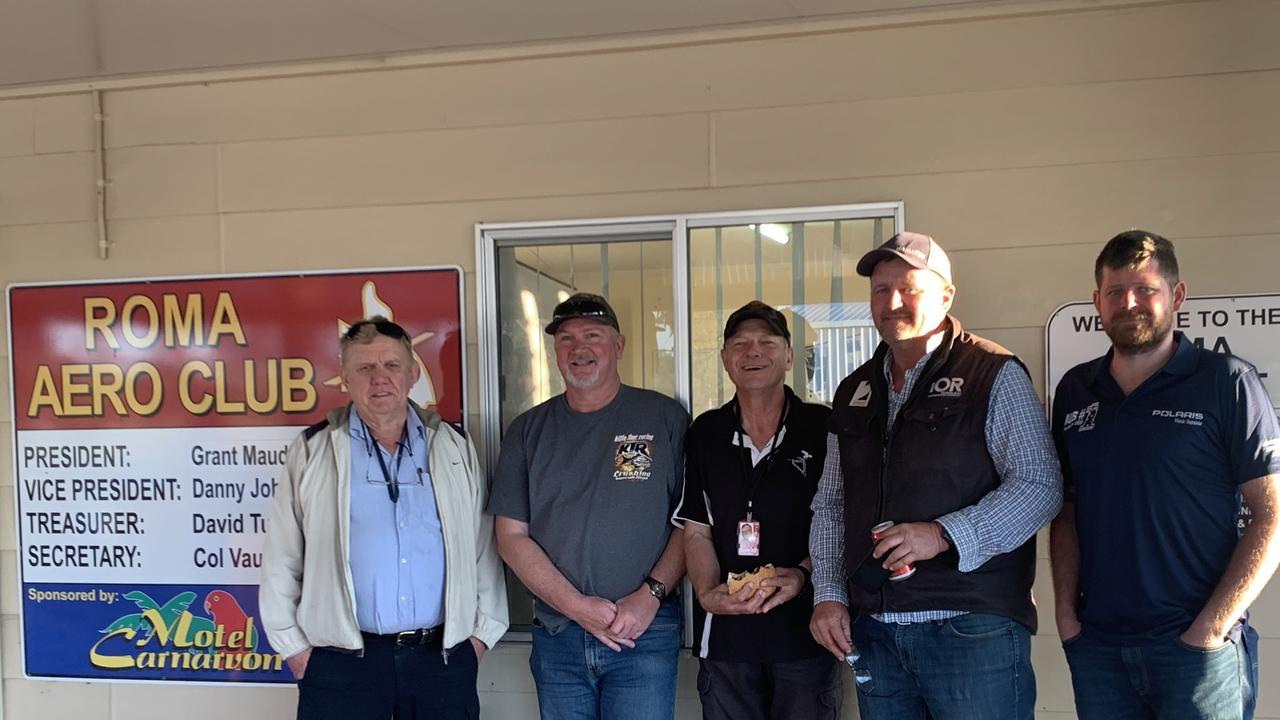 (L-R) Col Vaughan, Danny Johnson, Wayne Dillon, Grant Maudsley, Brent Zoellner