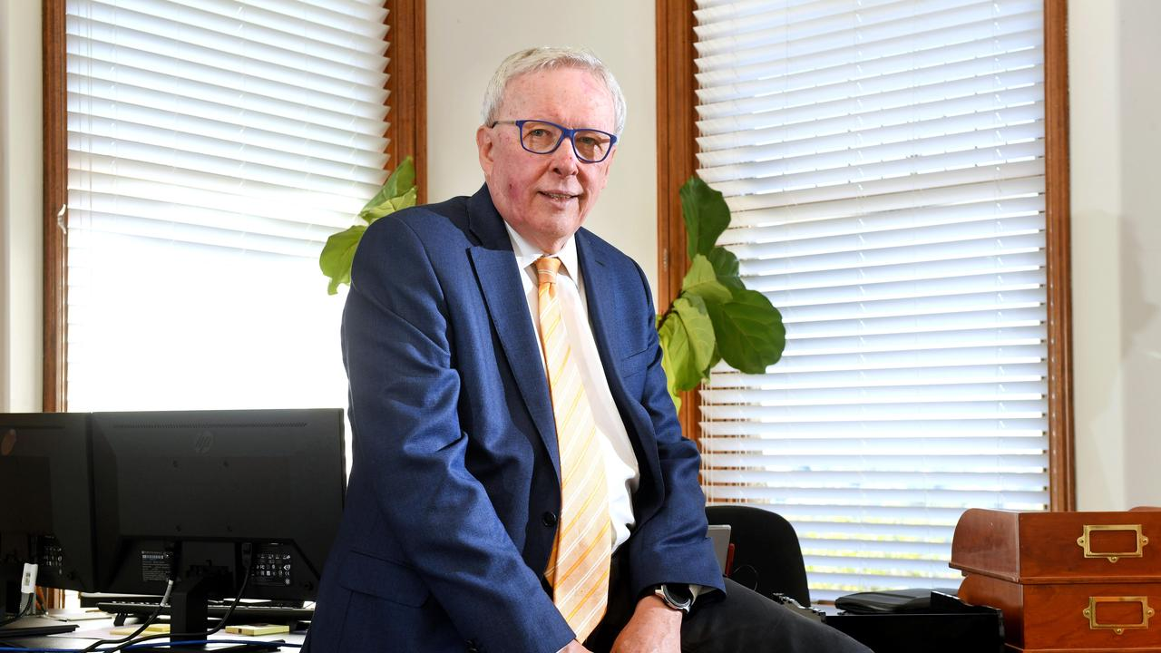 AMA Queensland President Dr Chris Perry. Picture: John Gass