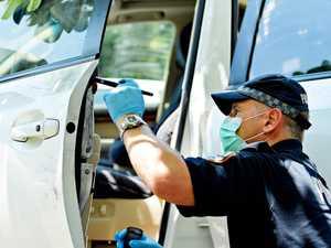 Worker's unlocked car stolen for joy ride
