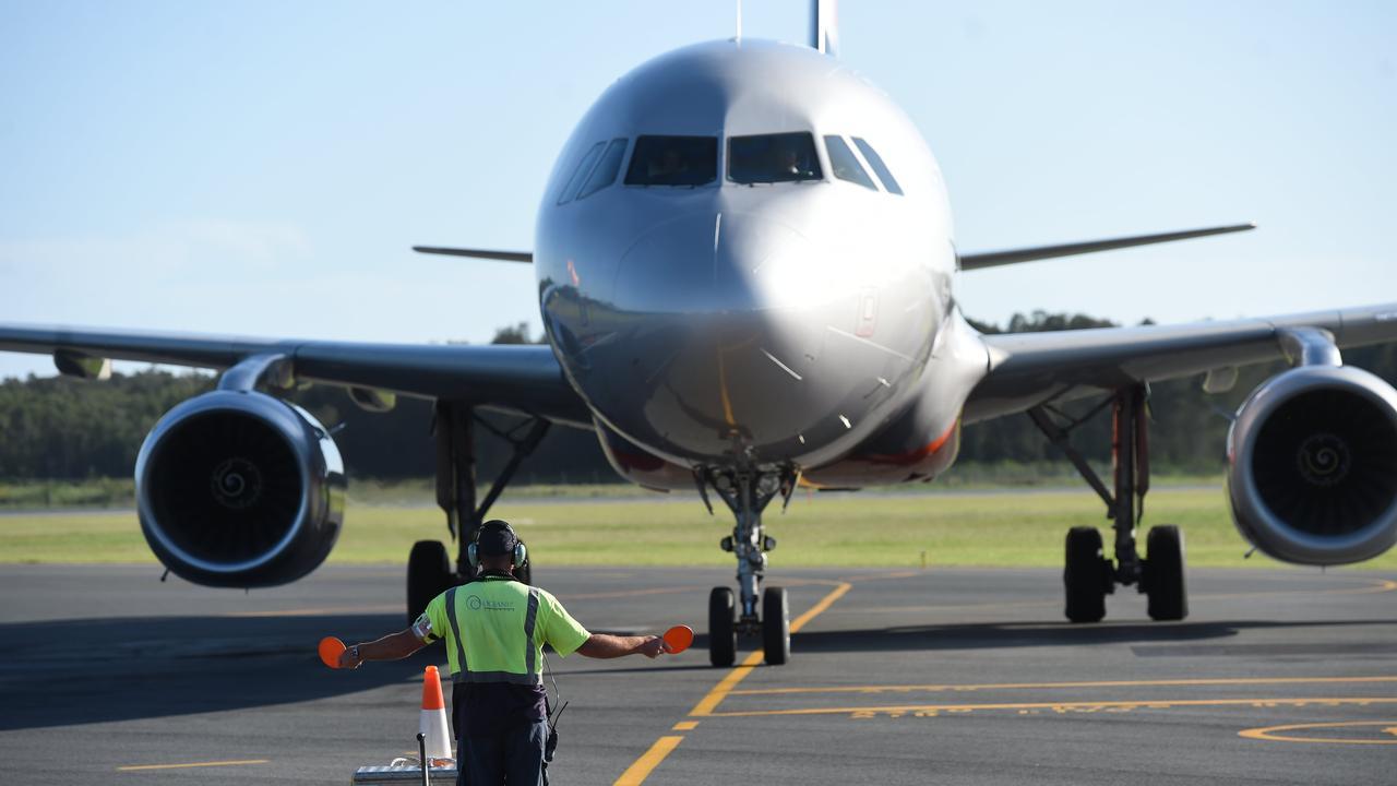 RAMP supervisor Neil MacLeod after a plane lands at Ballina Airport.