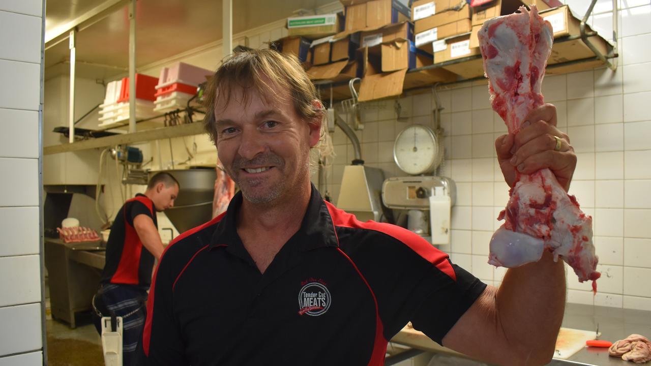 Rod Den Elzen's Tender Cut Meats was chosen by Daily Mercury readers as the best butcher in the region for 2020. Picture: Zizi Averill