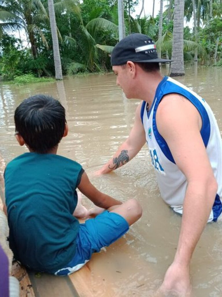 Stuck in the Philippines, veteran Ryan Hobson, of the Gold Coast, is struggling with PSTD and medical issues.