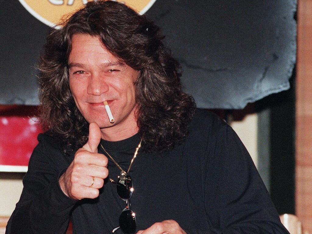 Eddie Van Halen will go down in history as a rock god