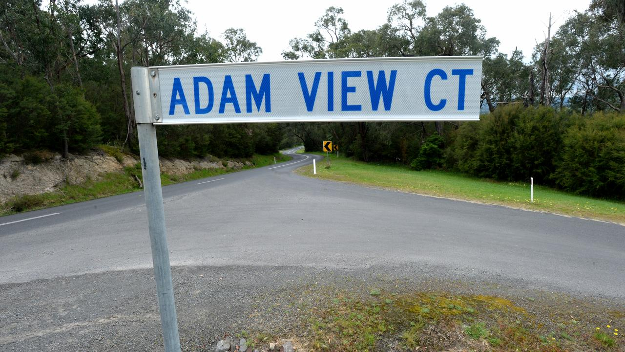 Becks Bridge Rd, near the corner of Adam View Court, about 5 km north of Moe was the last place Jarrod's bike was seen on April 18. Picture: NCA NewsWire / Andrew Henshaw