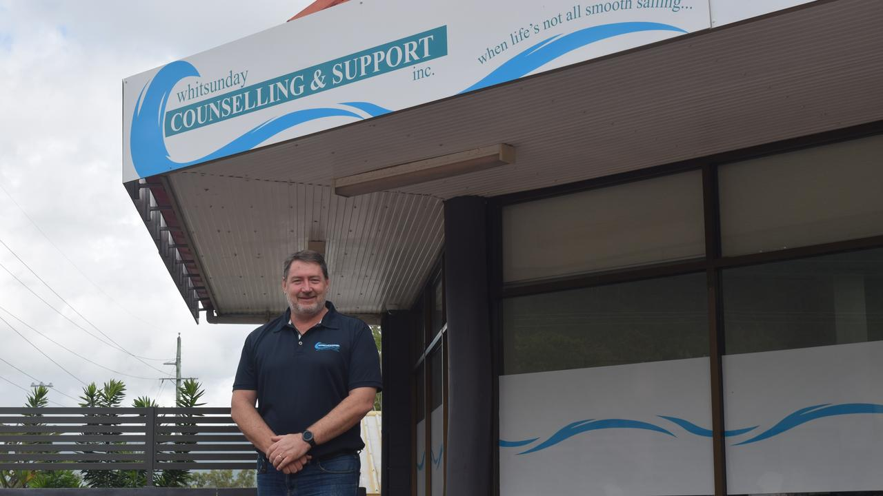 Whitsunday Counselling and Support CEO Ron Petterson said staff quickly had to adapt to the challenges of COVID-19. Picture: Laura Thomas