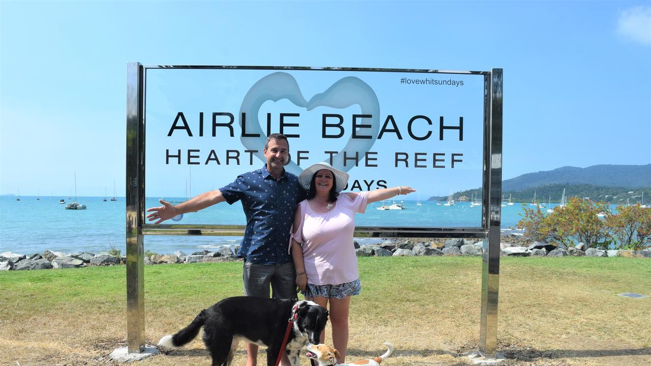 Allan and Susan Thompson from Brisbane visited the region during the school holidays. Picture: Laura Thomas