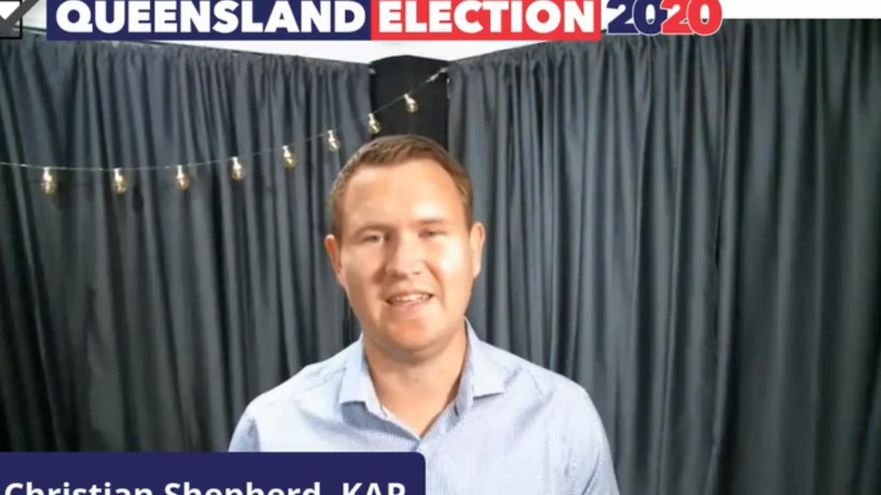 Katter's Australian Party's candidate for Rockhampton Christian Shepherd.