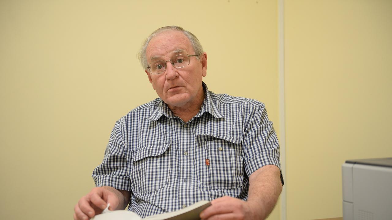 Veteran Rockhampton solicitor Doug Winning.