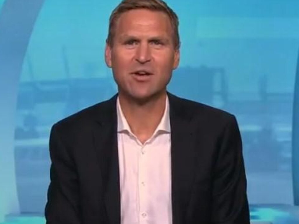 Kane Cornes on The Sunday Footy Show.