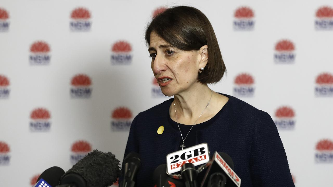 Premier Gladys Berejiklian says conditions imposed by Queensland are unrealistic. Picture: Ryan Pierse/Getty Images