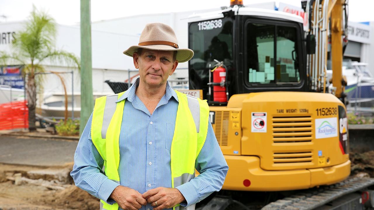Rockhampton Regional Council Councillor Tony Williams.