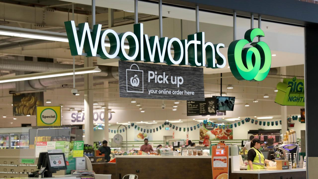 A man is on the run after he was seen sticking a syringe into products at a Woolworths in Melbourne. Picture: NCA NewsWire / Dean Martin