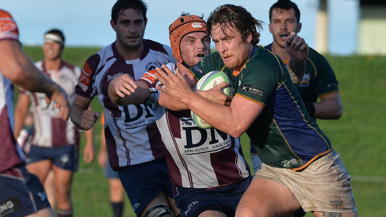 Matt Lieder has returned to USC Barbarians determined to wrestle back the premiership from Caloundra.