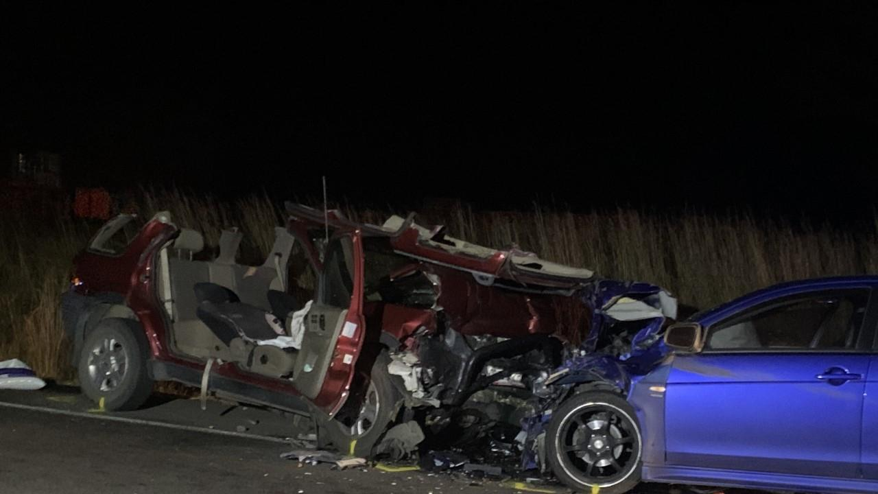 A woman was killed in a fatal crash at Tiaro.