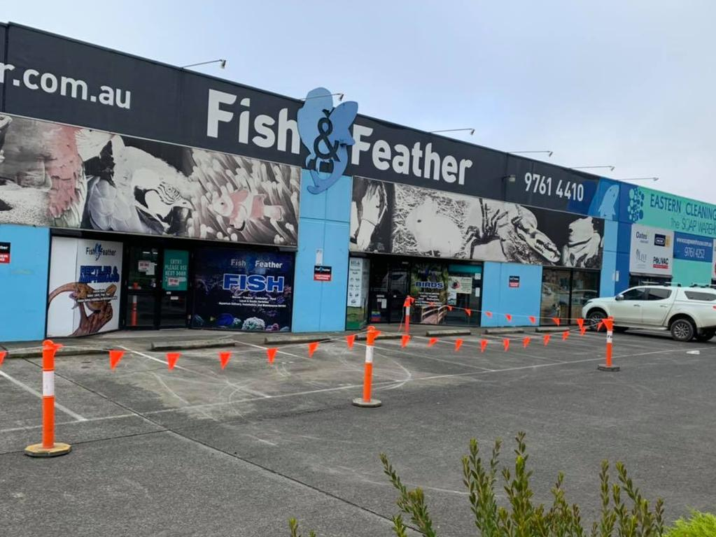 Victoria Police have been notified of the incident. Picture: Fish and Feather Kilsyth/Facebook