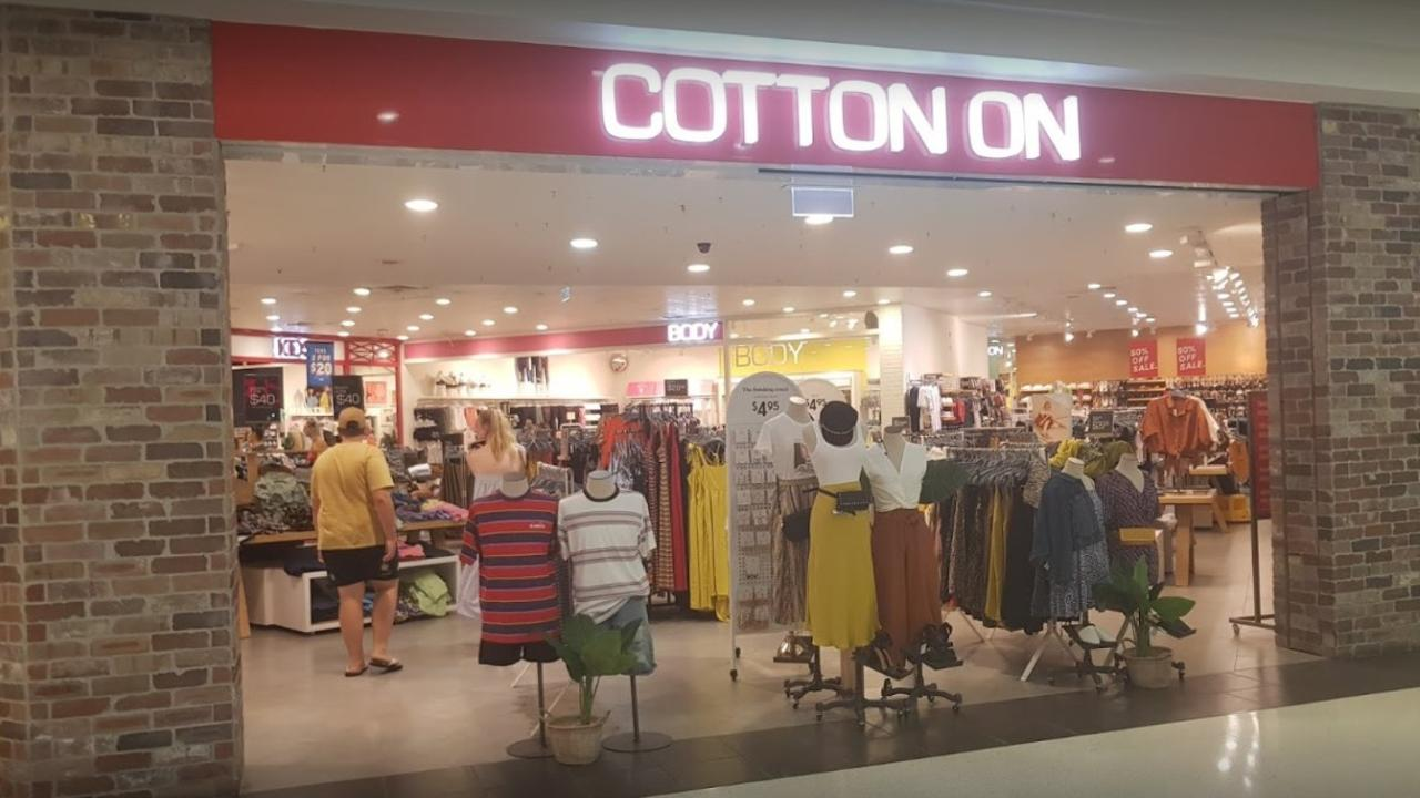 The existing Cotton On store at Stockland Rockhampton.