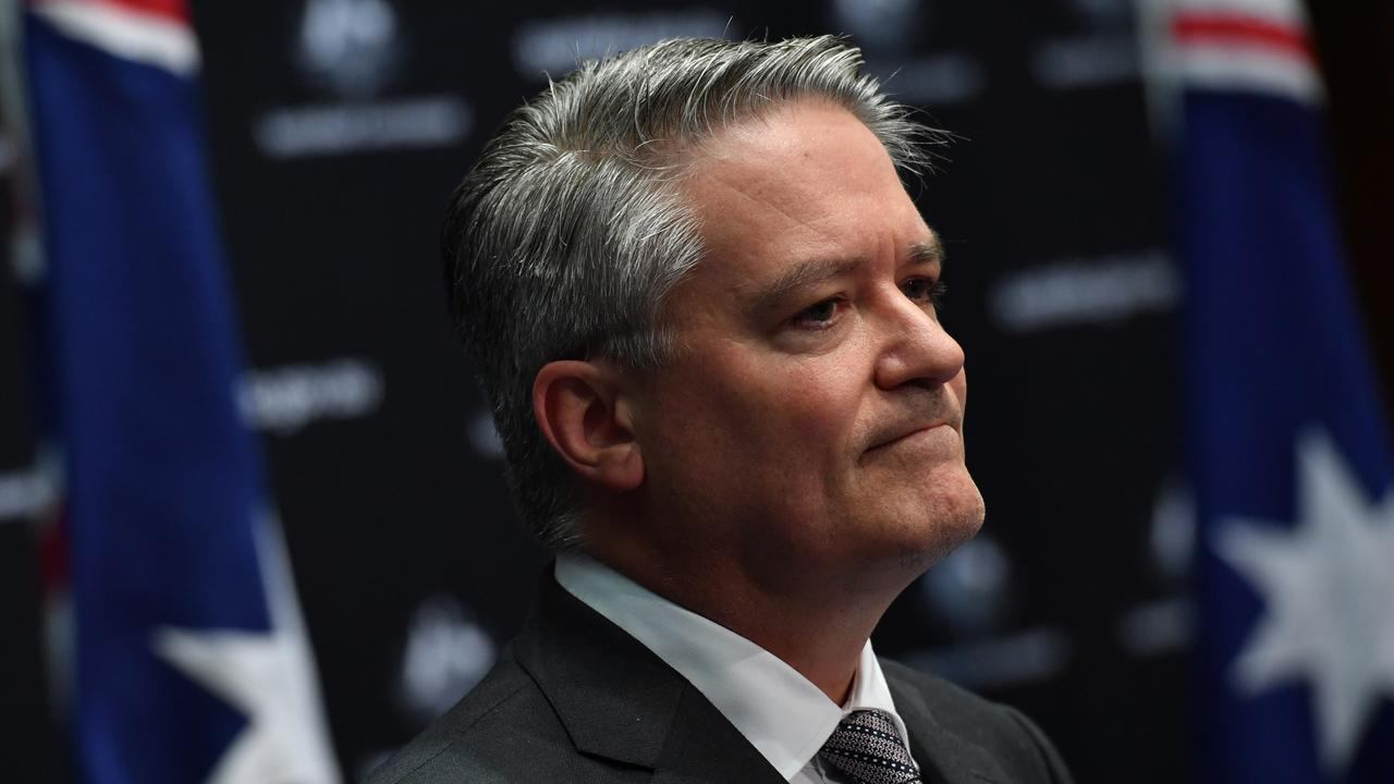 Finance Minister Mathias Cormann is stepping down and will be Australia's candidate for Secretary-general of the Organisation for Economic Co-operation and Development (OECD). Picture: Sam Mooy/Getty Images