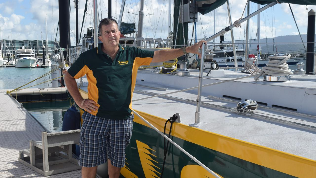 Apollo Whitsundays owner Rick Mark had remarketed his tours to cater to the Australian market. Picture: Laura Thomas